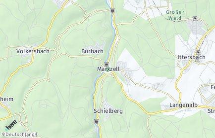 Stadtplan Marxzell