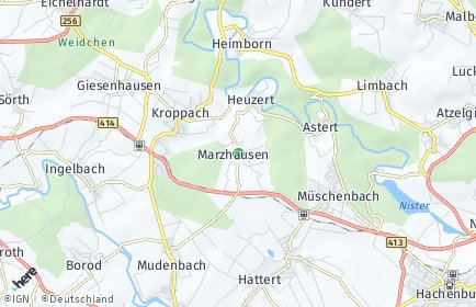 Stadtplan Marzhausen