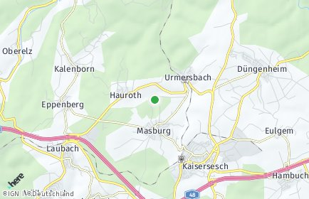 Stadtplan Masburg