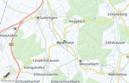 Stadtplan Maselheim