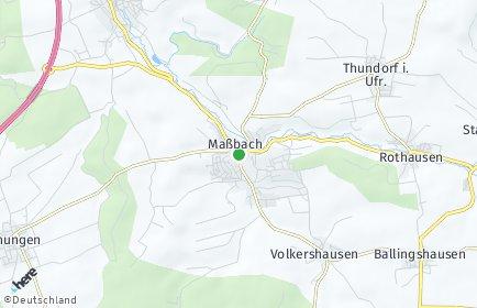 Stadtplan Maßbach
