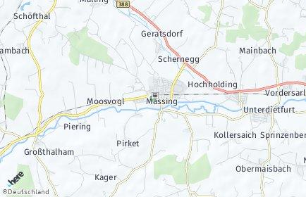 Stadtplan Massing