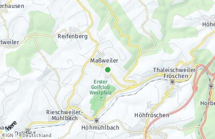 Stadtplan Maßweiler