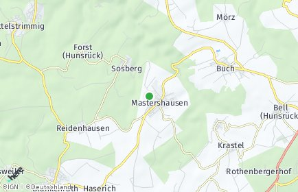 Stadtplan Mastershausen