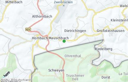Stadtplan Mauschbach