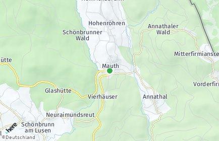 Stadtplan Mauth