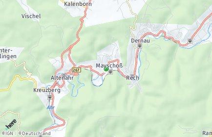 Stadtplan Mayschoß