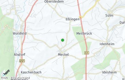 Stadtplan Meckel