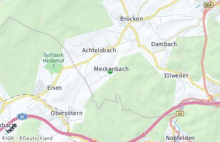 Stadtplan Meckenbach