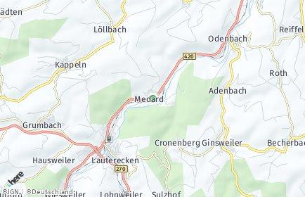 Stadtplan Medard