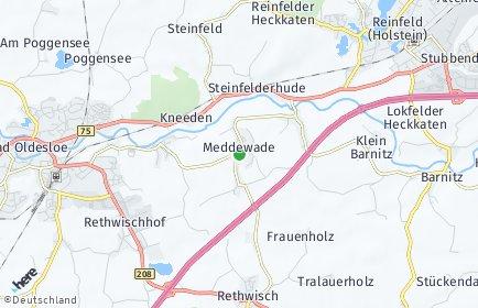 Stadtplan Meddewade