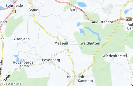 Stadtplan Meezen