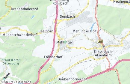 Stadtplan Mehlingen