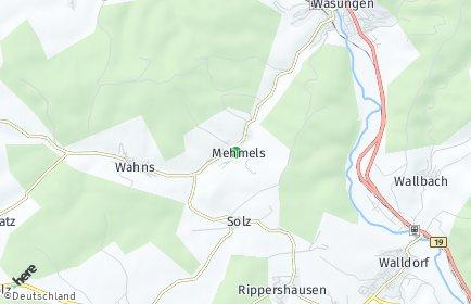 Stadtplan Mehmels