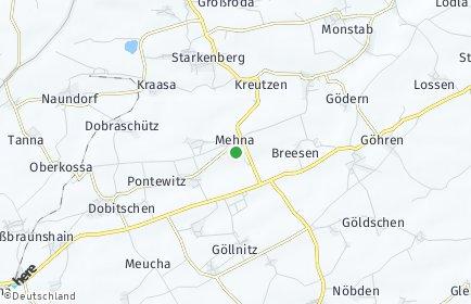 Stadtplan Mehna