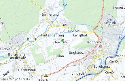 Stadtplan Mehring