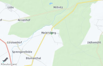 Stadtplan Meiersberg