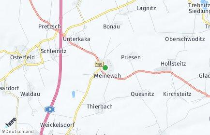 Stadtplan Meineweh