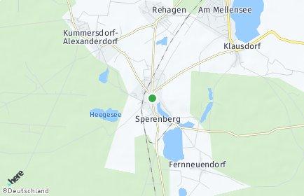 Stadtplan Am Mellensee