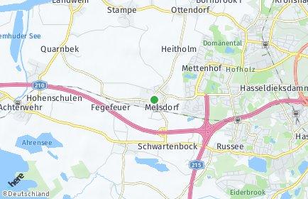 Stadtplan Melsdorf