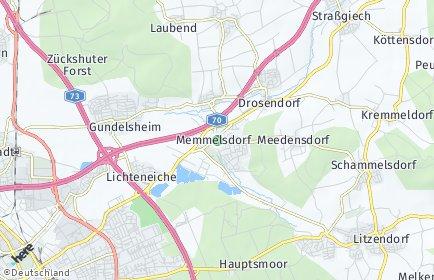 Stadtplan Memmelsdorf