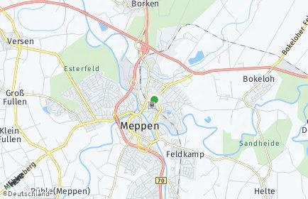 Stadtplan Meppen