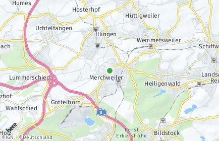 Stadtplan Merchweiler