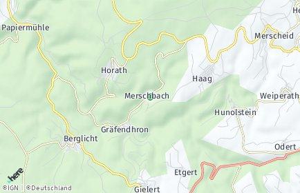 Stadtplan Merschbach