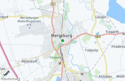 Stadtplan Merseburg