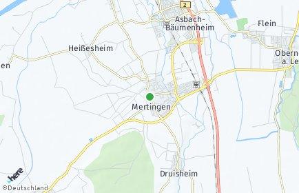 Stadtplan Mertingen
