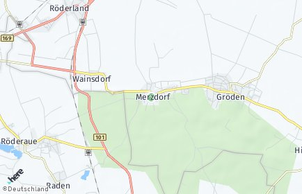 Stadtplan Merzdorf