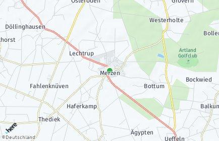 Stadtplan Merzen