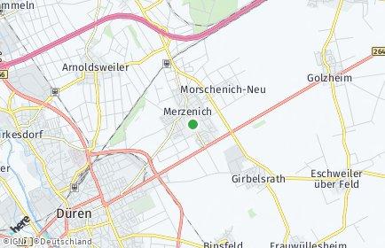 Stadtplan Merzenich