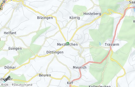 Stadtplan Merzkirchen