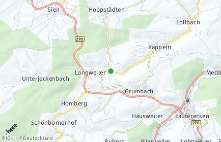 Stadtplan Merzweiler