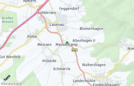Stadtplan Messenkamp