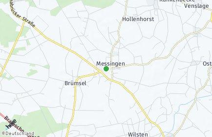 Stadtplan Messingen