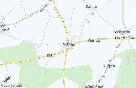 Stadtplan Mestlin