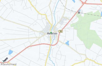 Stadtplan Metelen