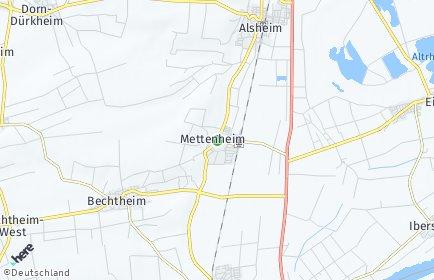 Stadtplan Mettenheim (Rheinhessen)