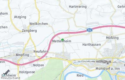 Stadtplan Mettenheim (Bayern)