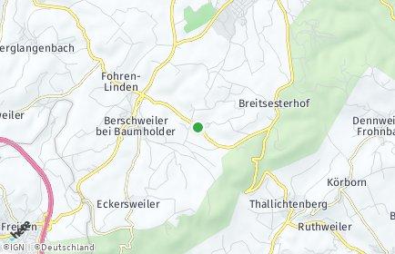 Stadtplan Mettweiler