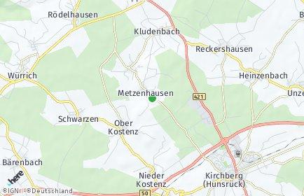 Stadtplan Metzenhausen