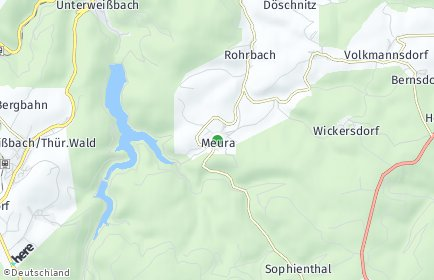 Stadtplan Meura