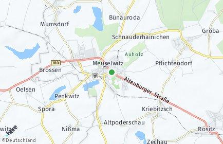 Stadtplan Meuselwitz