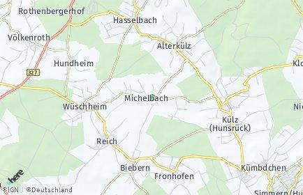Stadtplan Michelbach (Hunsrück)
