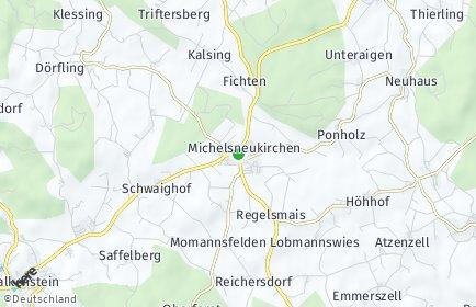 Stadtplan Michelsneukirchen