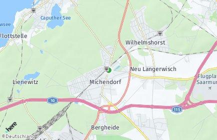 Stadtplan Michendorf OT Fresdorf