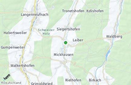 Stadtplan Mickhausen