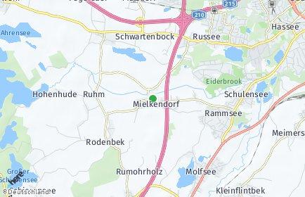 Stadtplan Mielkendorf